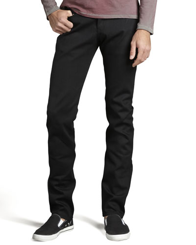 WeirdGuy Black Selvedge Jeans