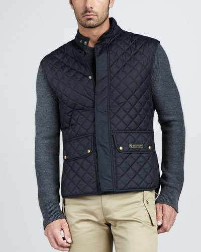 Quilted Two-Pocket Vest