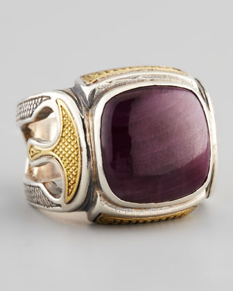 Men's Ruby Root Ring
