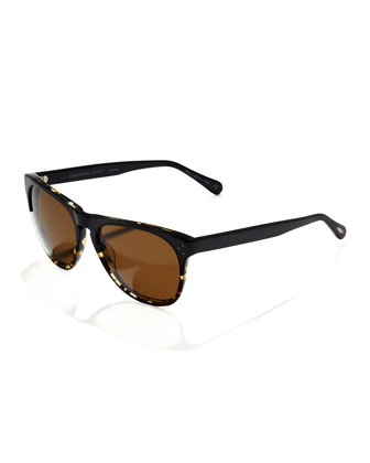 Polarized Daddy B Sunglasses, Dark Tortoise