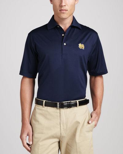 Notre Dame Gameday Polo, Navy