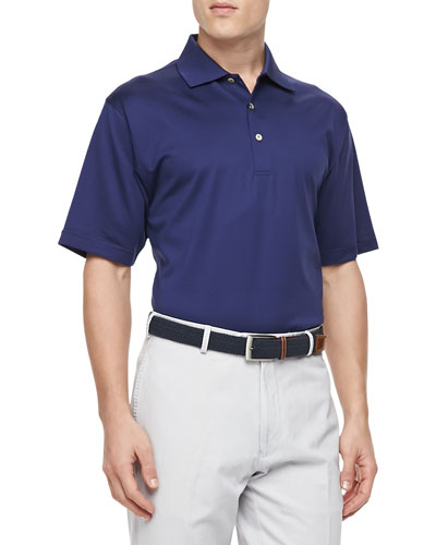 Short-Sleeve Polo, Navy
