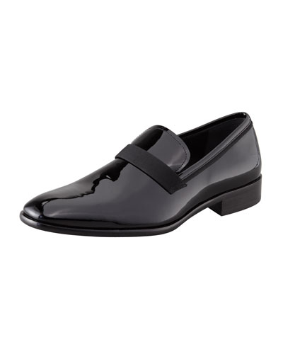 Antoane Patent Loafer, Black