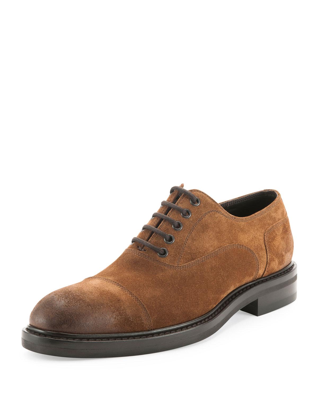 Adrian Suede Commando Shoe