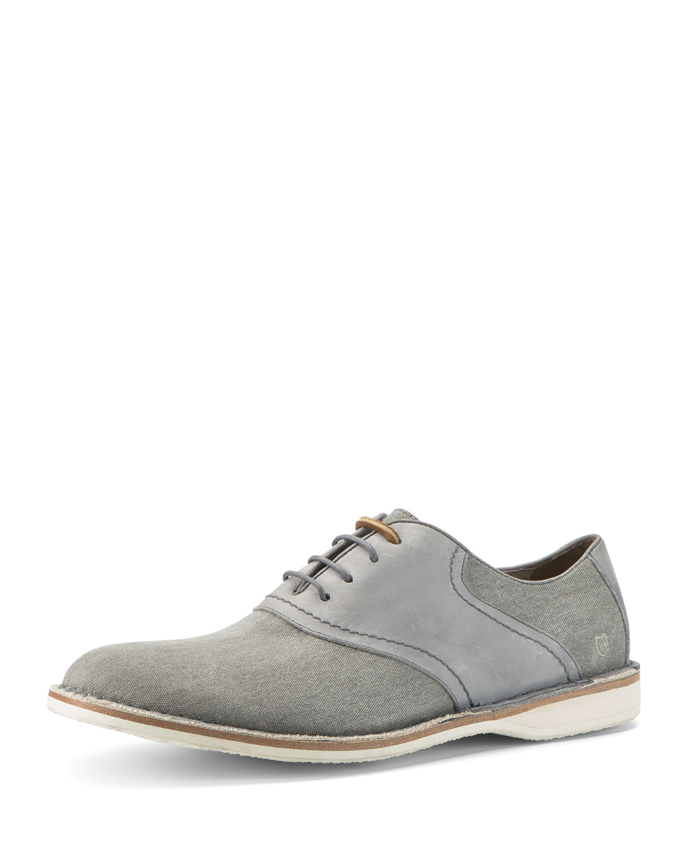 Dorchester Saddle Shoe, Gray