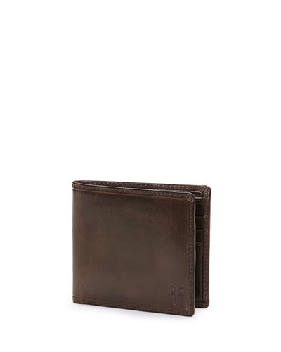 Logan Leather Bi-Fold Wallet