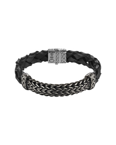 Men's Classic Chain Large Station Bracelet