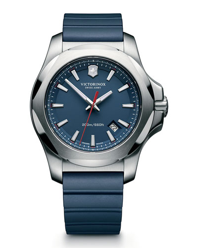 I.N.O.X. Rugged Watch with Protective Cover, Blue