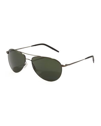 Benedict Basic Polarized Aviators, Grey