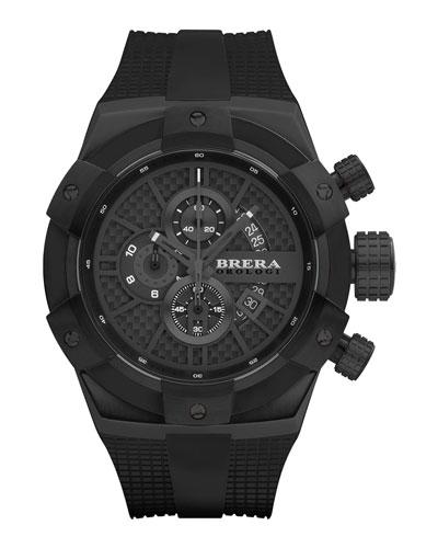 48mm Supersportivo Watch, Black IP