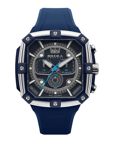 Supersportivo Square Watch, Navy