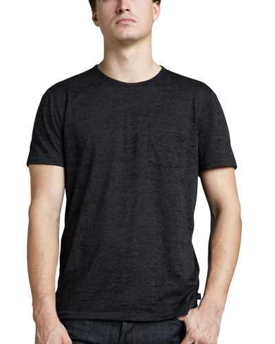 Burnout Pocket T-Shirt