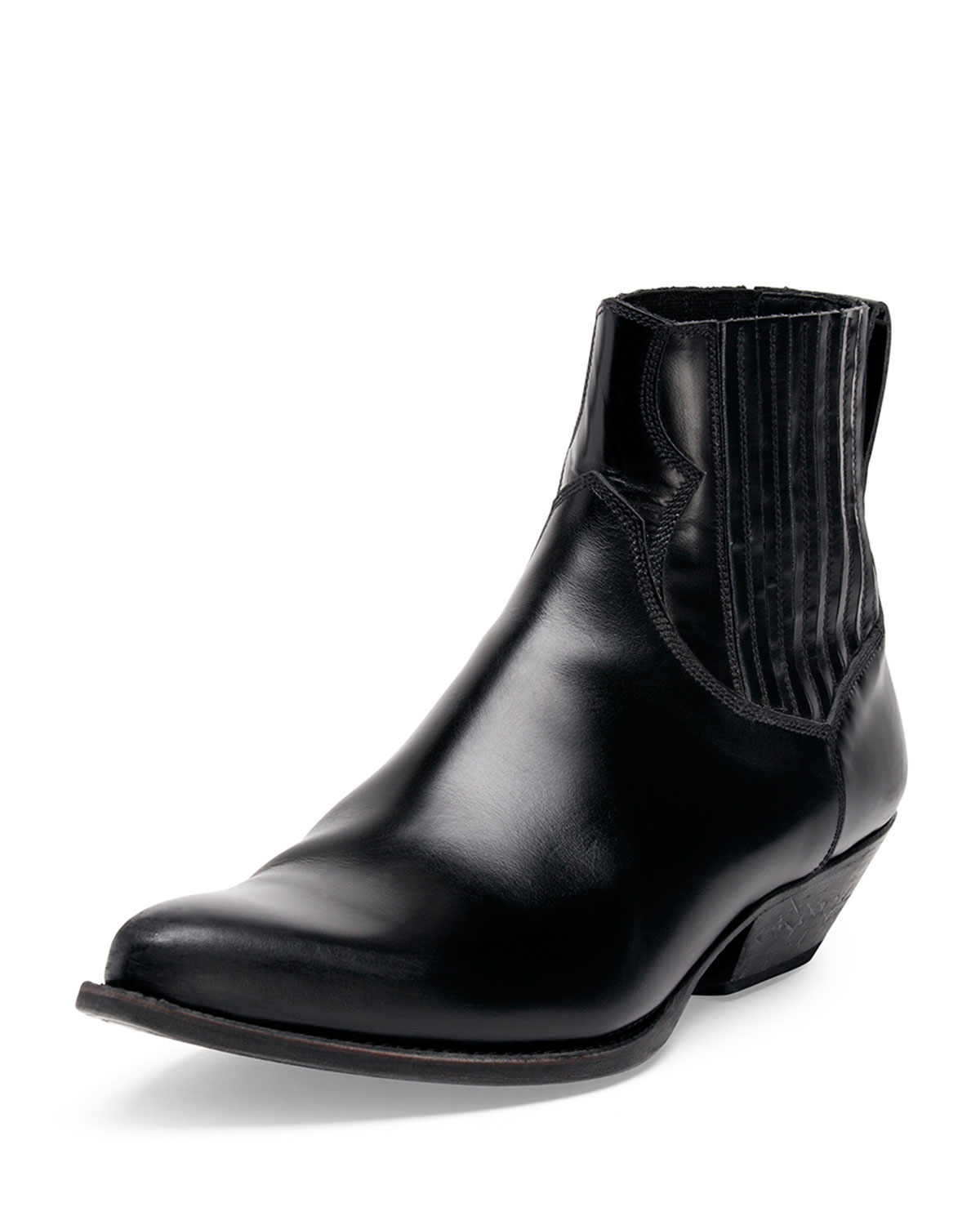 Low Cowboy Boot, Black