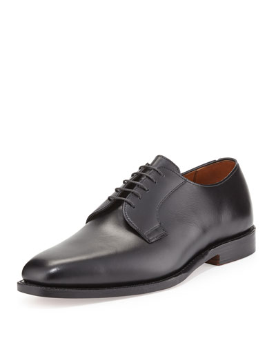Leather Derby Shoe, Black