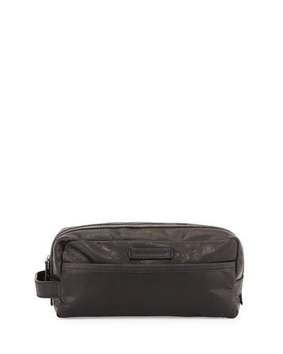 Logan Leather Toiletry Kit