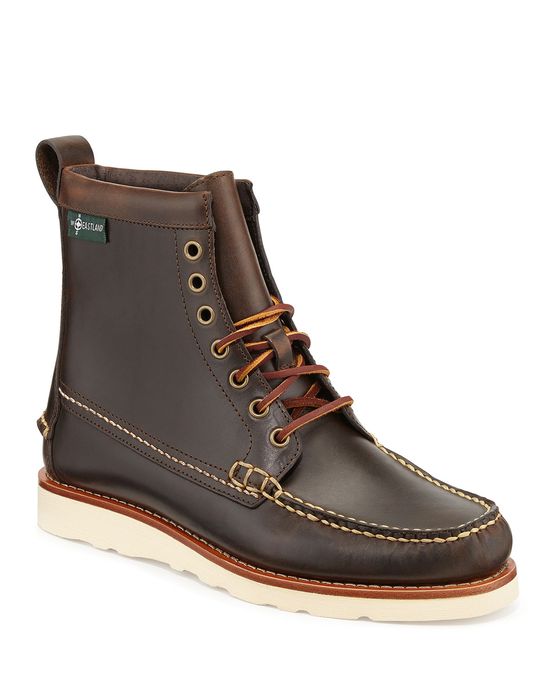 Sherman 1955 Leather Boots, Oak