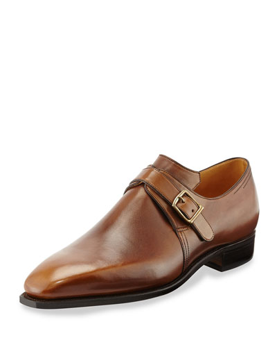 Arca Boucle Monk Shoe, Antique Brown