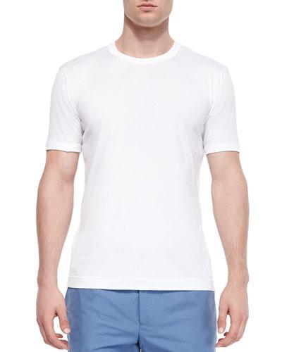 Basic Crewneck T-Shirt, White