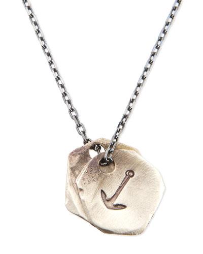 Anchor Medallion Necklace