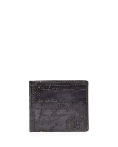 Scritto Money-Clip Wallet, Black