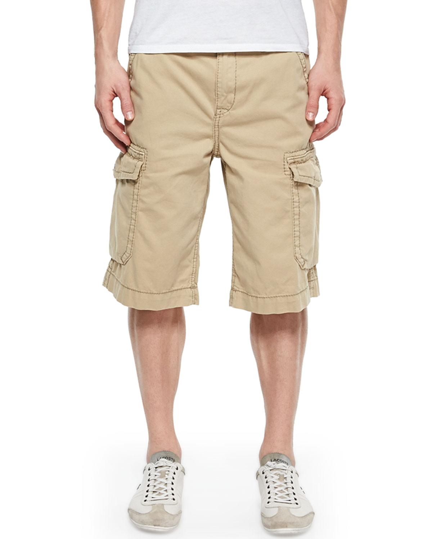 Trooper Cargo Shorts, Straw