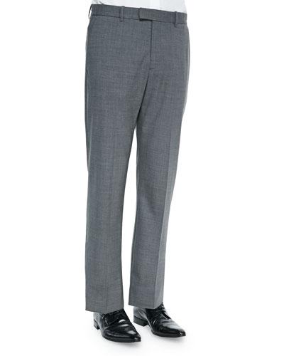 Kody 2 New Tailor Suit Pants, Charcoal