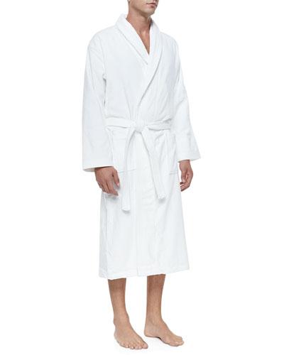 Shawl Collar Robe  907a7ef16