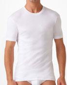 Pima Crewneck T-Shirt, White