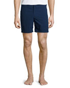 Orlebar Brown Bulldog Solid Swim Trunks, Navy