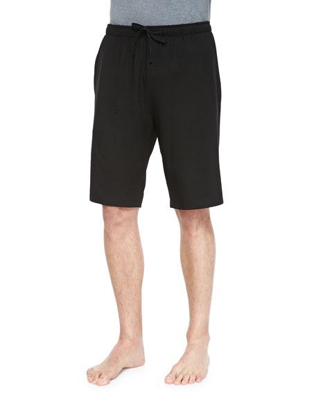 Derek Rose Basel 1 Jersey Lounge Shorts, Black