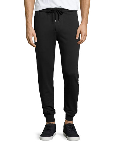 Haleford Knit Sweatpants, Black