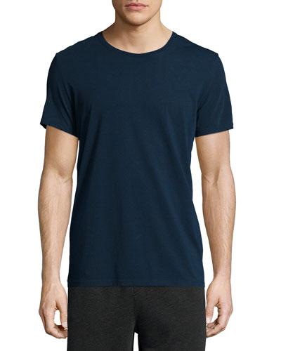 Classic Crewneck Short-Sleeve T-Shirt, Navy