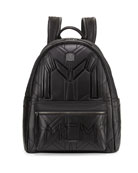 Bionic Coated Neoprene Medium Backpack, Black