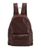 Buffalo Leather Backpack, Copper
