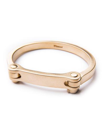 Men's Medium Bold Cuff, Brass