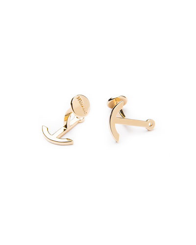 Anchor Cuff Links, Gold