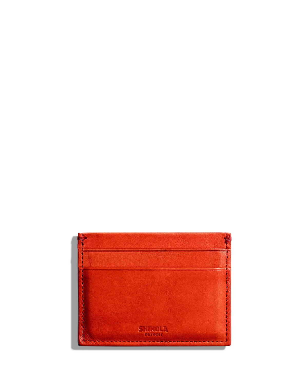 Shinola Bags 5 POCKET CARD CASE