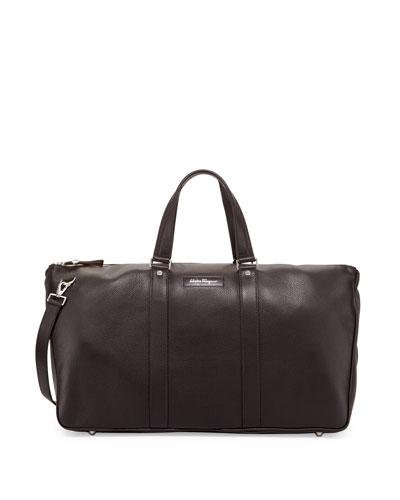 Keepers Leather Weekender Bag, Brown