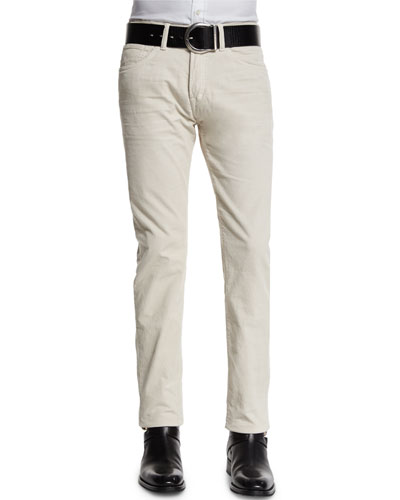 Five-Pocket Pinwale Corduroy Pants