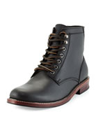 Elkton 1955 Leather Boot, Black