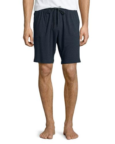 Jersey Lounge Shorts, Charcoal