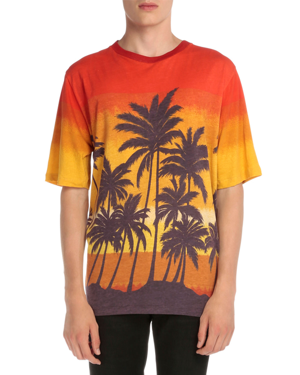 Multi-Tropical Graphic T-Shirt, Multi