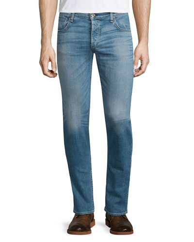 Standard Issue Fit 2 Mid-Rise Relaxed Slim-Fit Jeans, Dark Blue