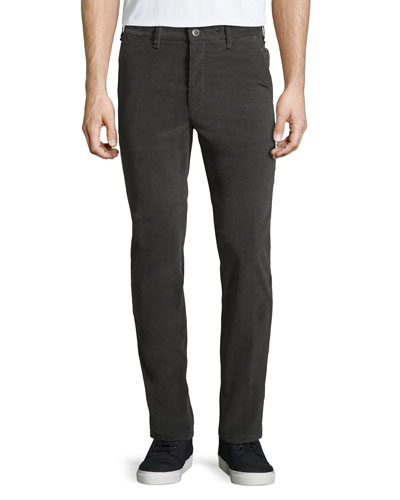 Race Drainpipe Stretch Trousers, Gray