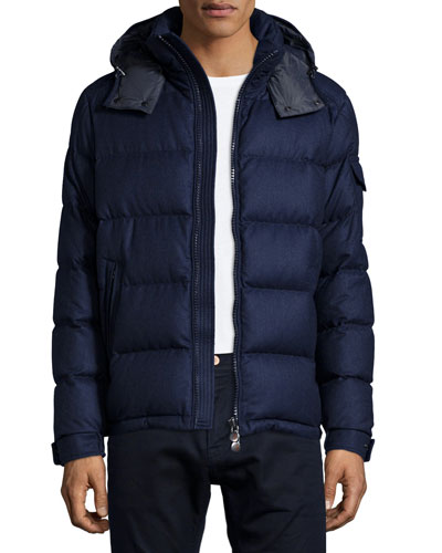 Montgenevre Quilted Puffer Jacket, Blue