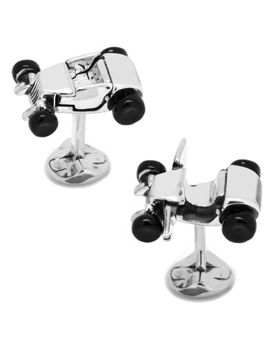 Hot Rod Car Cuff Links