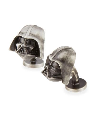 3D Darth Vader Cuff Links