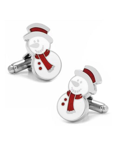 the Snowman Cufflinks