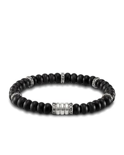 Batu Bedeg Men's Beaded Bracelet