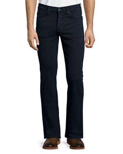 Luxe Performance: Slimmy Denim Jeans, Navy